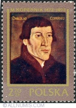 "Image #1 of 2,70 Złoty 1973 - ""Nicolaus Copernicus"" by Nora Zinck"