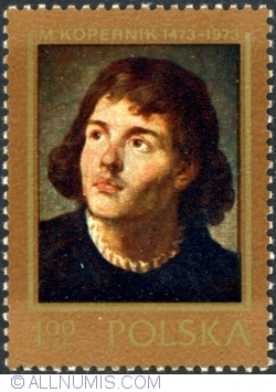 "Image #1 of 1 Złoty 1973 - ""Nicolaus Copernicus"", by M. Bacciarelli"