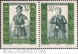 Image #1 of 3,10 złotego; 3,10 złotego - Man and woman from Kujawy