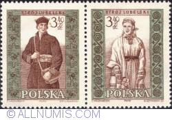 Image #1 of 3,40 złotego; 3,40 złotego - Man and woman from Lublin
