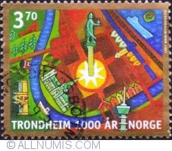 Imaginea #1 a 3,70 Kroner 1997 - New Trondheim
