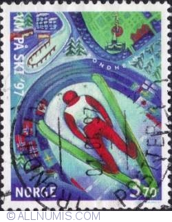 Imaginea #1 a 3,70 Kroner 1997 - Ski jumping