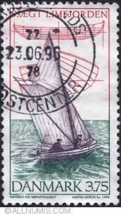 Image #1 of 3,75 Krone - Sjægt fra Limfjorden 1996