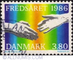 Image #1 of 3,80 Kroner 1986 - Symbol of Peace