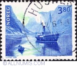 Imaginea #1 a 3,80 Kroner 1998 - Mail boat SS Hornelen