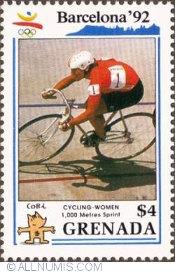 Image #1 of $4 1990 - Women's cycling