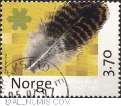 Imaginea #1 a 4 Kroner 1997 - Environmental protection, establishing national parks