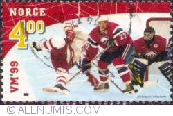 Imaginea #1 a 4 Kroner 1999 - Ice Hockey Poland vs Norway