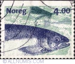 Imaginea #1 a 4 Kroner 1999 - Salmon