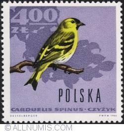 Image #1 of 4 złote 1966 - Eurasian siskin
