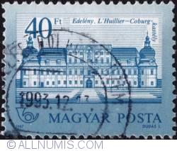 Imaginea #1 a 40 Forints 1987 - L'Huillier-Coborg Edeleny