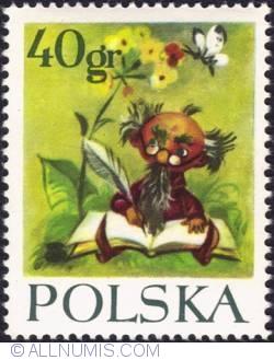 Image #1 of 40 groszy- Koszałek-Opałek, court historian of king Błystek