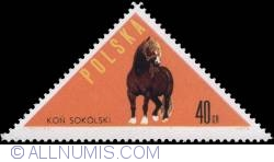 Image #1 of 40 groszy - Sokólski horse