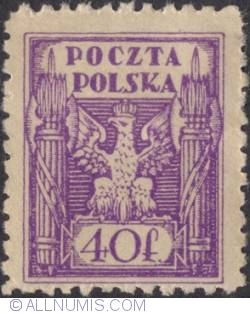 Image #1 of 40 Polish Fenig 1920 - Polish Eagle