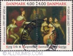 Image #1 of 4;4 kroner 1997 - Kalmar Union