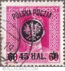 Image #1 of 45 Halerzy on 60 Haller 1919 - Emperor Karl I