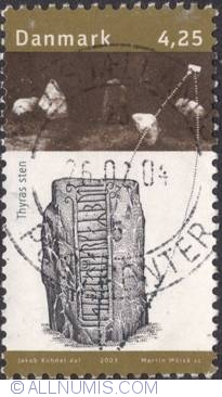 Image #1 of 4,50 Kroner 2003 -Queen Thyra's stone