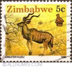 Imaginea #1 a 5 Cents 1990 - Greater kudu
