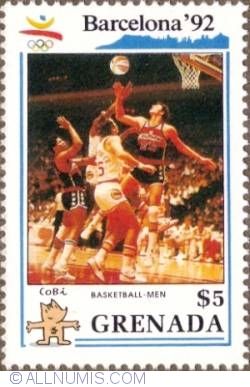 Image #1 of $5 1990 - Men's basketball