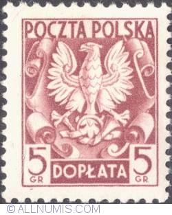 Image #1 of 5 groszy- Polish Eagle ( Without imprint )