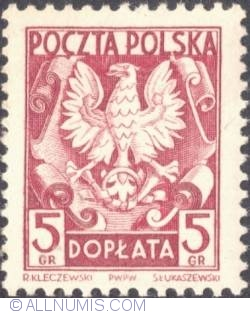 Image #1 of 5 groszy- Polish Eagle