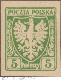 Image #1 of 5 Halerzy 1919 - Polish Eagle