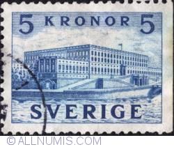 Image #1 of 5 Kronor 1941 - Royal Palace at Stocholm