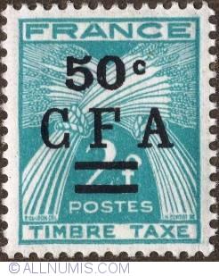 Image #1 of 50 c. on 2 Fr. 1949