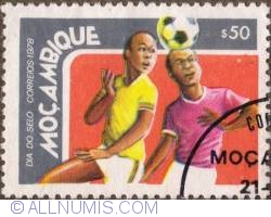 Image #1 of 50 Centavos 1978 - Soccer