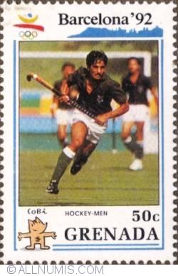 Imaginea #1 a 50¢ 1990 -  Field hockey