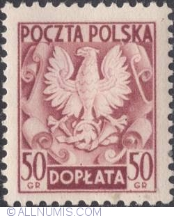 Image #1 of 50 groszy- Polish Eagle ( Without imprint )