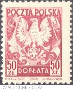 Image #1 of 50 złotych- Polish Eagle