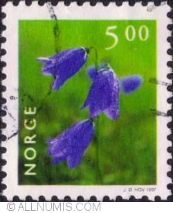 Image #1 of 5,00 Kroner 1997 - Harebel