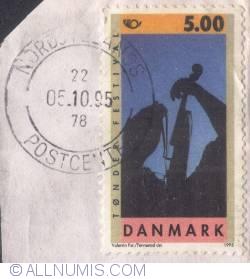 Image #1 of 5,00 kroner - Tønder Festival