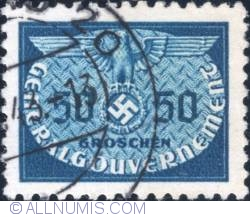 Image #1 of 540 grosze1940 - Reich emblem and GG
