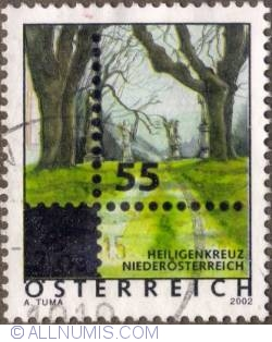 Image #1 of 0,55 € on 2,03 € 2005 - Stations of the Cross,Lower Austria Province
