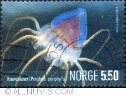 Imaginea #1 a 5,50 Kroner 2004 - Periphylla periphylla