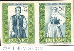 Image #1 of 5,60 złotego; 5,60 złotego - Man and woman from Szamotuły