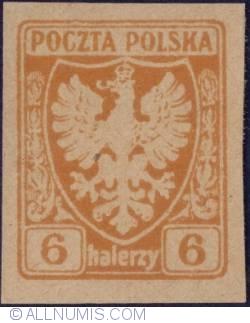 Image #1 of 6 Halerzy 1919 - Polisch Eagle