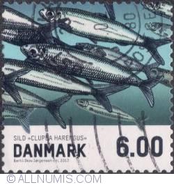 Image #1 of 6 kroner 2013 - Shoal of Herring