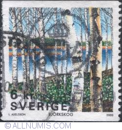 Image #1 of 6 Kronor - Birch forest 2000