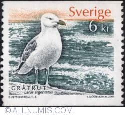 Image #1 of 6 Kronor - Larus argentatus. 2001