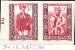 Image #1 of 1 zloty; 1 zloty - Man and woman from Silesia