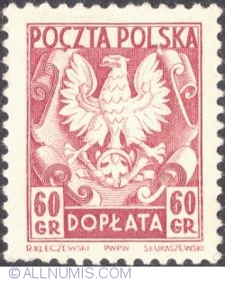 Image #1 of 60 groszy- Polish Eagle