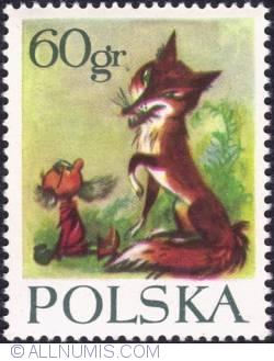 Image #1 of 60 groszy - The fox Sadełko with Koszałek-Opałek
