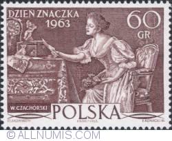 Image #1 of 60 groszy - The loveletter by Władysław Czachórski