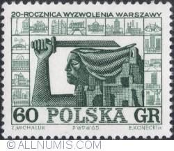 Image #1 of 60 groszy1965 - Warsaw Mermaid, ruins and new buildings