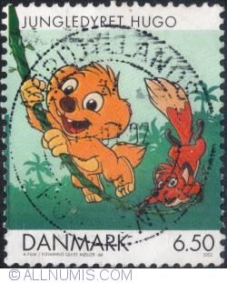 Image #1 of 6,50 Krone - Jungledyret Hugo 2002