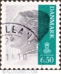 6,50 kroner 2010 - Queen Margarethe II