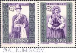 Image #1 of 6,50 złotego; 6,50 złotego - Man and woman from Lubusk